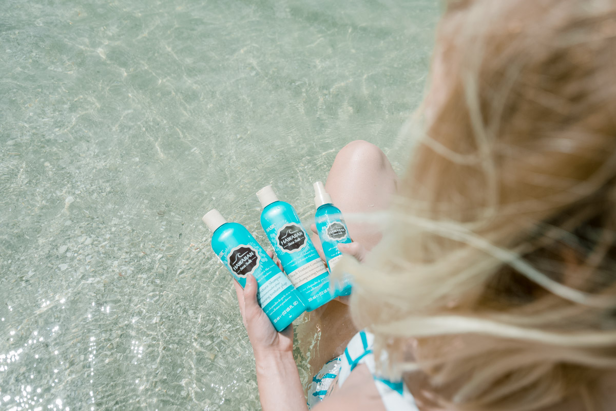 Hask Hawaiian Sea Salt Products - Sweet Teal