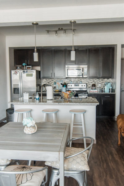 Apartment Kitchen + Dining Room Reveal