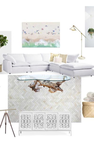 Dream Living Room Mood Board