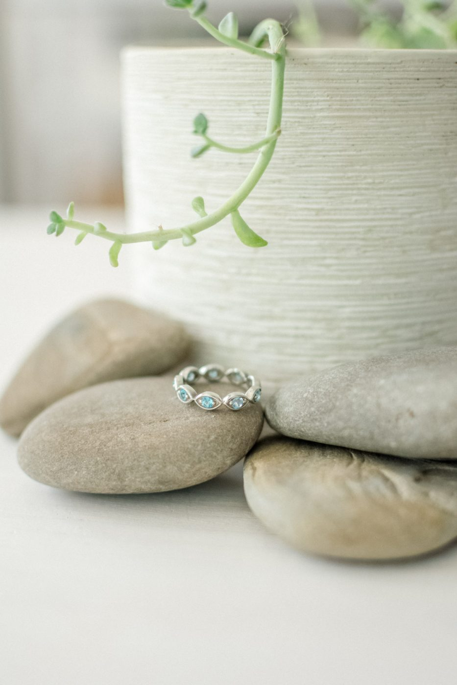 Anjolee Ring- Sweet Teal