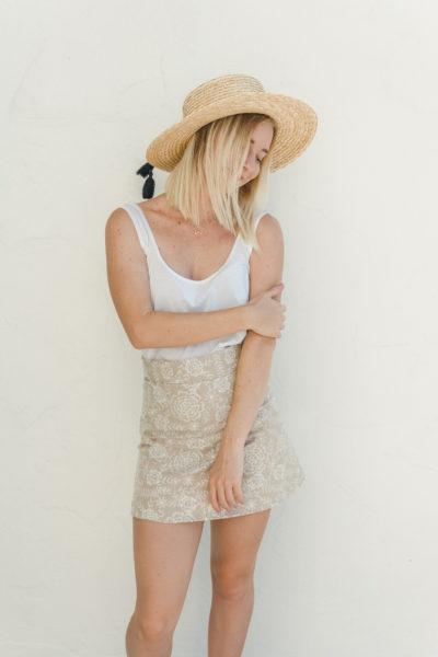 DIY A-Line Skirt