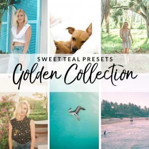 Golden Collection Lightroom Presets - Sweet Teal