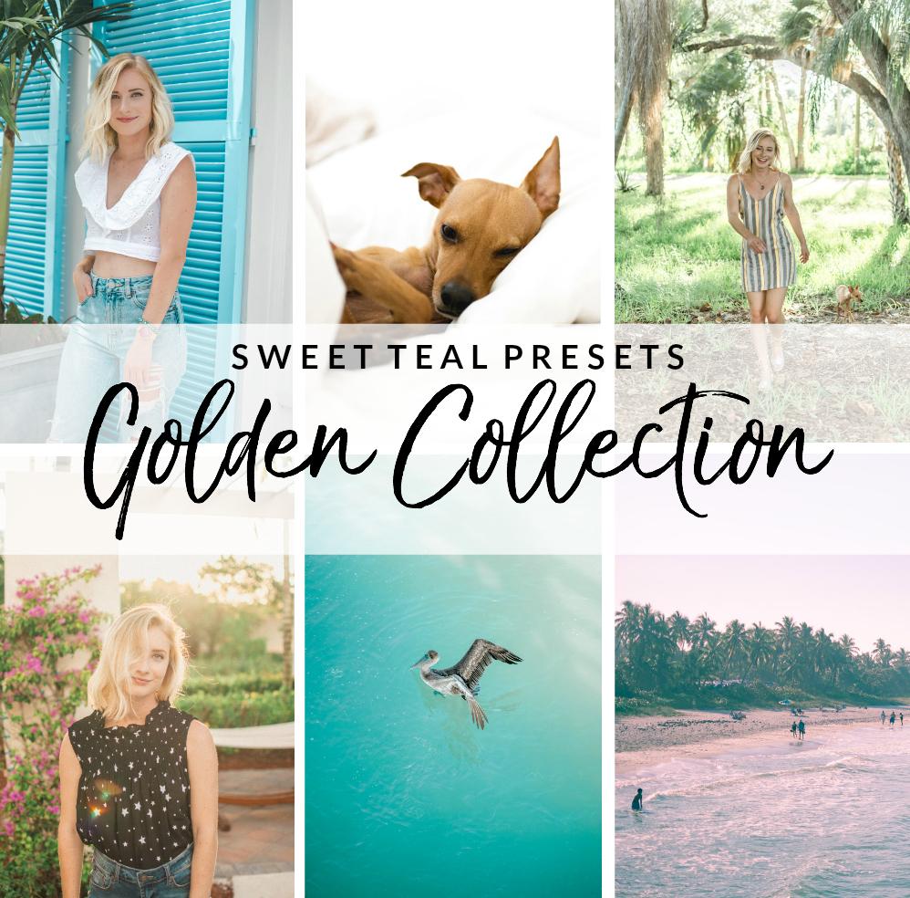 Golden Collection Lightroom Presets - Sweet Teal