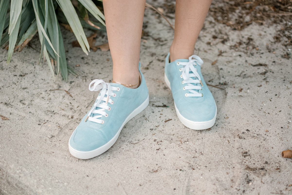sneakers from shoes of prey - sweet teal