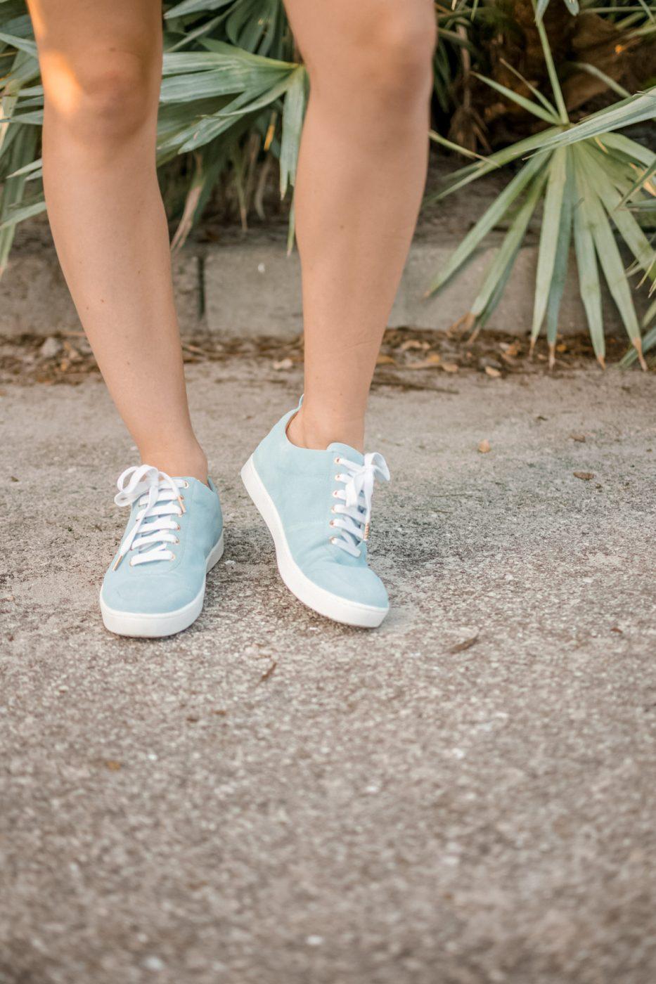 Shoes of Prey Tiber Sneakers - Sweet Teal