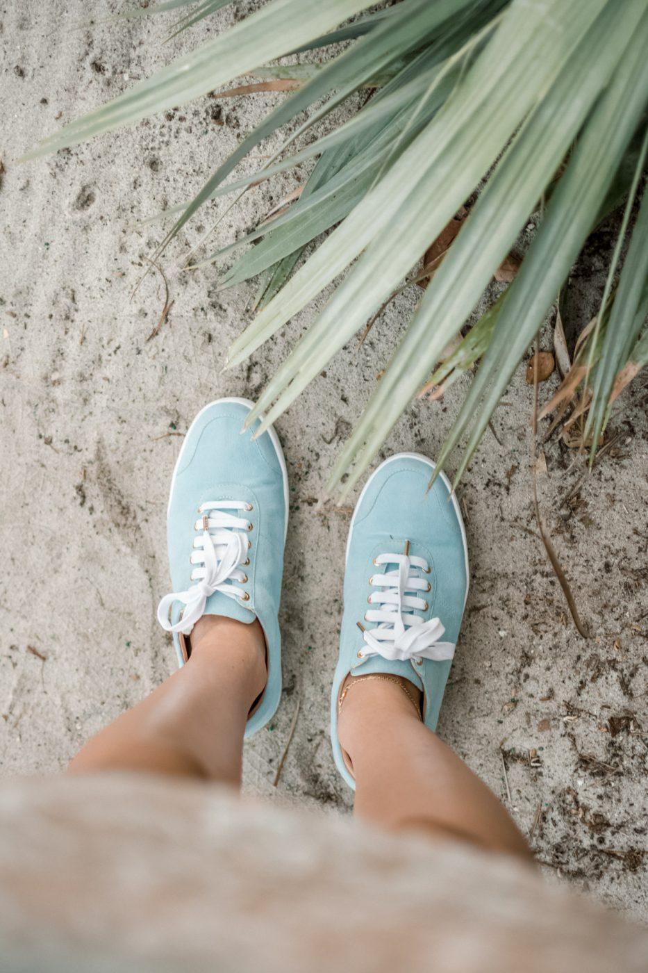 Shoes of Prey Sneakers - Sweet Teal
