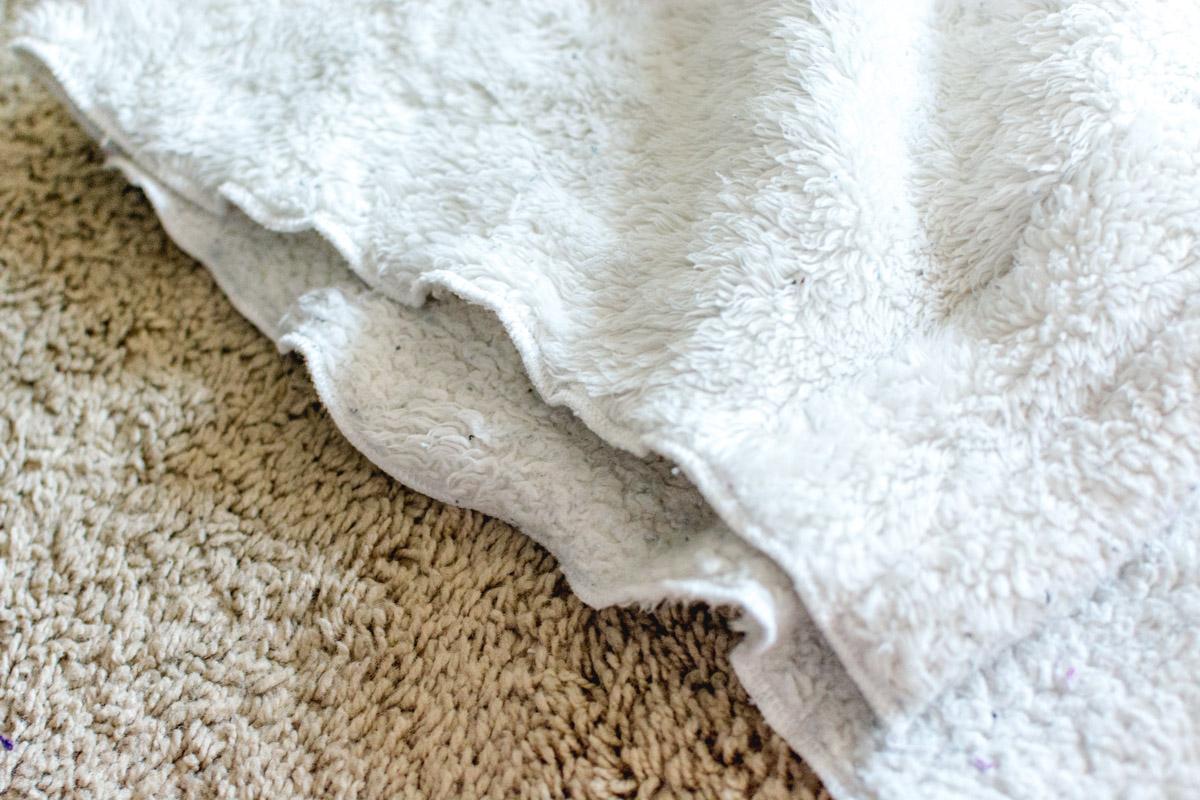 DIY Bathrobe step 12 - Sweet Teal