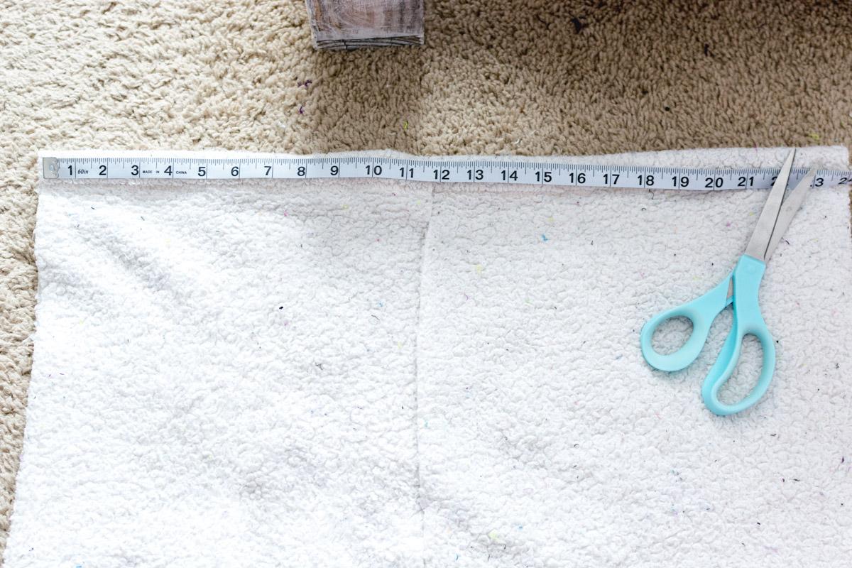 DIY Bathrobe step 2 - Sweet Teal