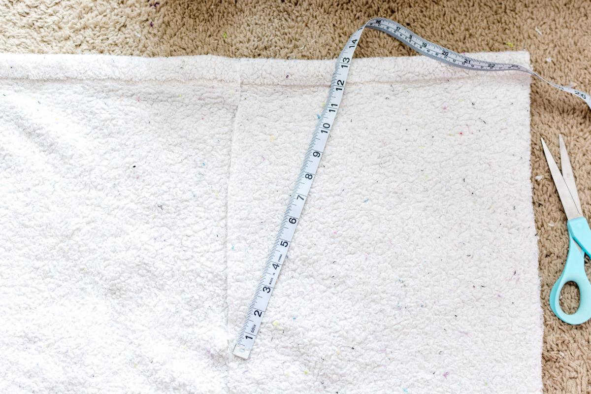 DIY Bathrobe step 3 - Sweet Teal