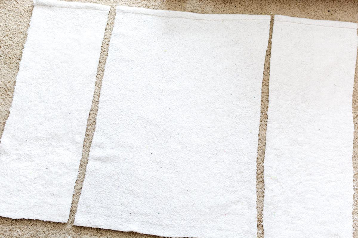 DIY Bathrobe step 1 - Sweet Teal