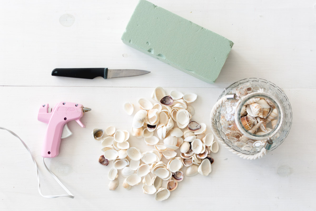 diy seashell christmas tree tutorials - sweet teal