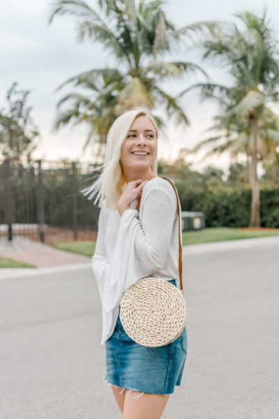 How To Make A Straw Crossbody Bag