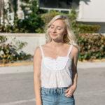 DIY Refashion: Shirt to Crop Tank