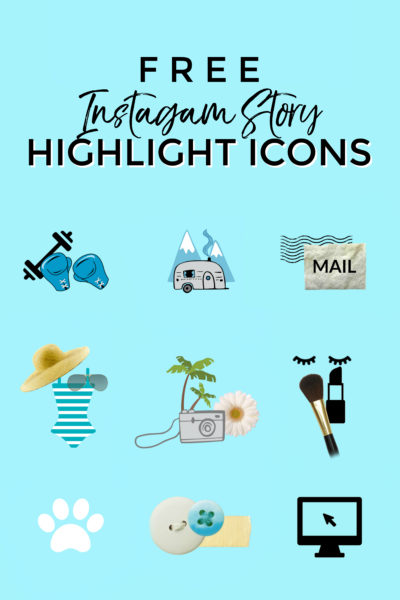 Instagram Story Highlight Icons Tutorial (free download!)