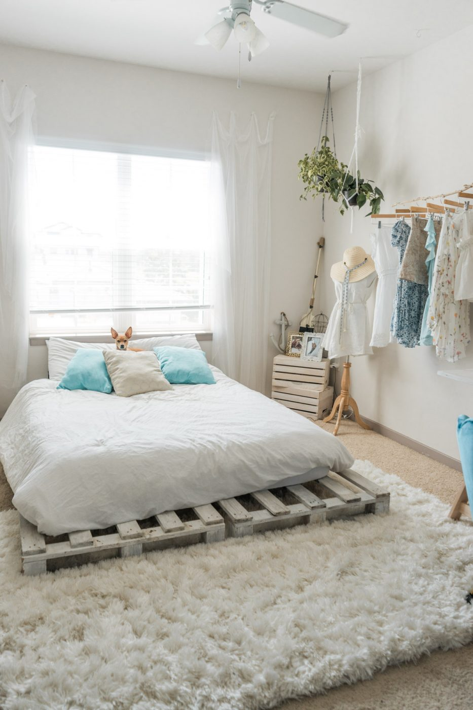 Beachy Boho Bedroom - Sweet Teal