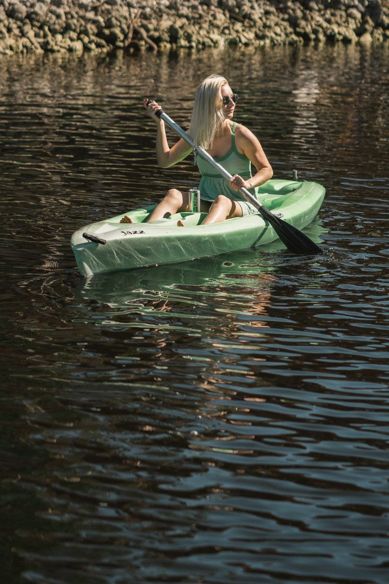 Diet Coke Kayaking - Sweet Teal