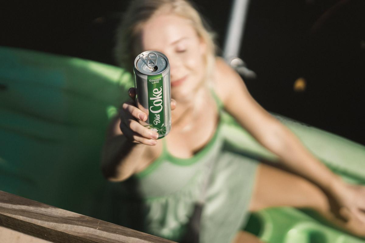 Diet Coke Lime Flavor