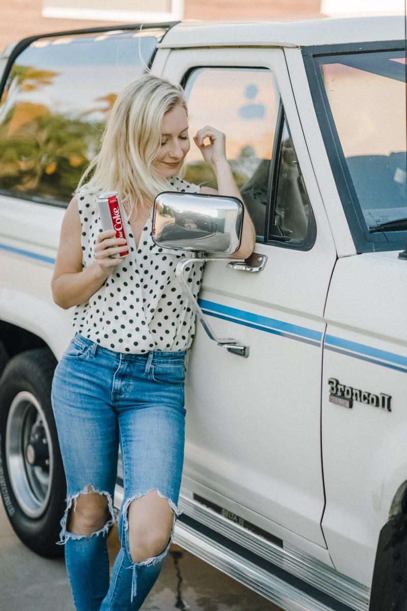 Roadtrip with Diet Coke - Sweet Teal