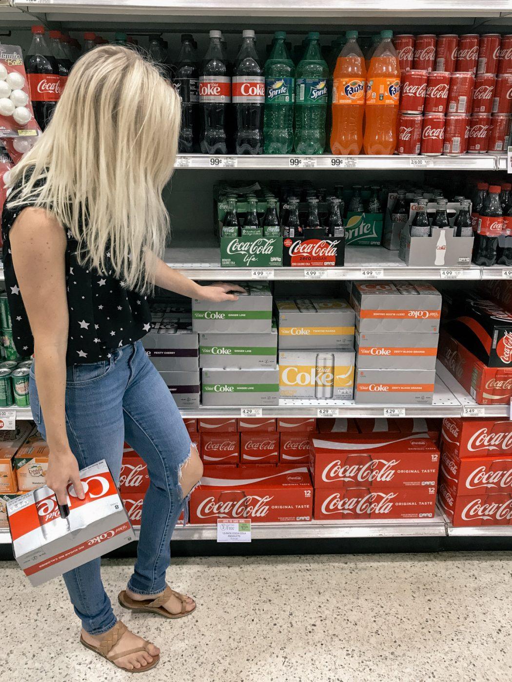 Diet Coke in Publix - Sweet Teal