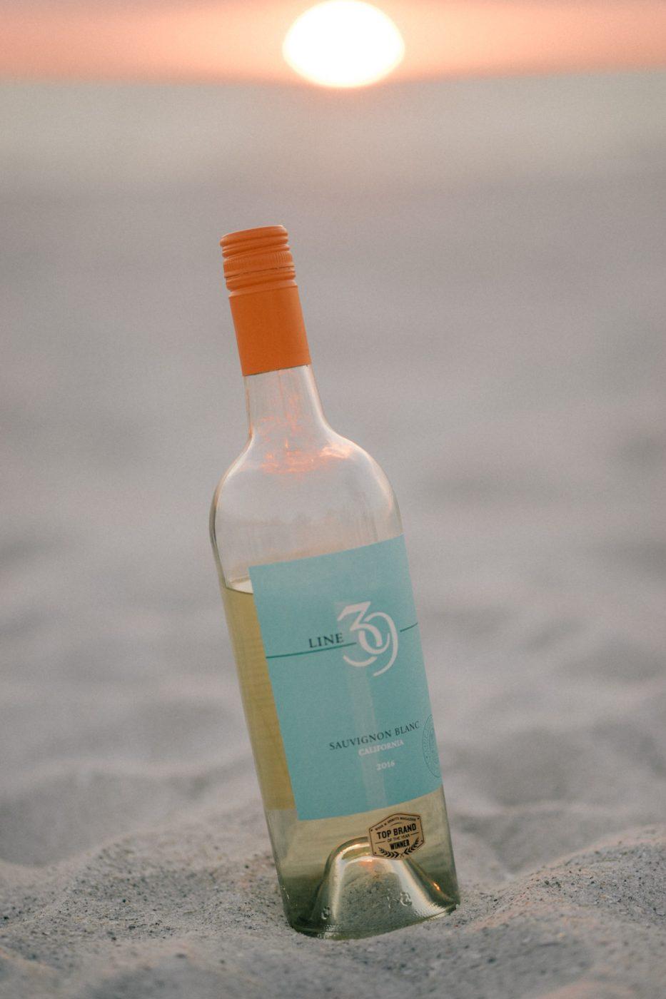 Line 39 Sauvignon Blanc - Sweet Teal