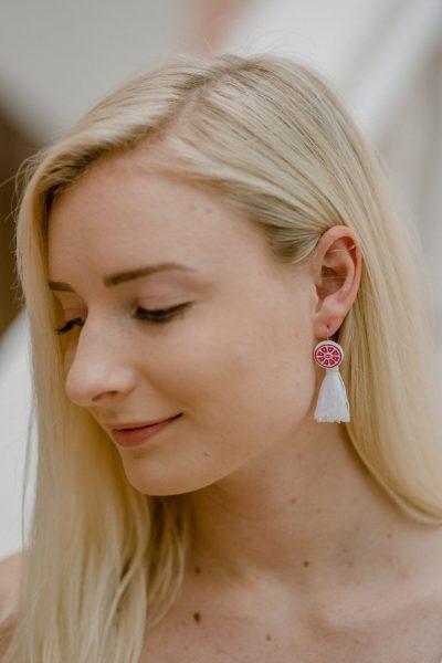 DIY Chanel Tassel Earrings
