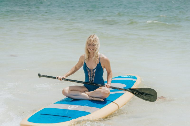 Paddle Boarding at Lovers Key State Park