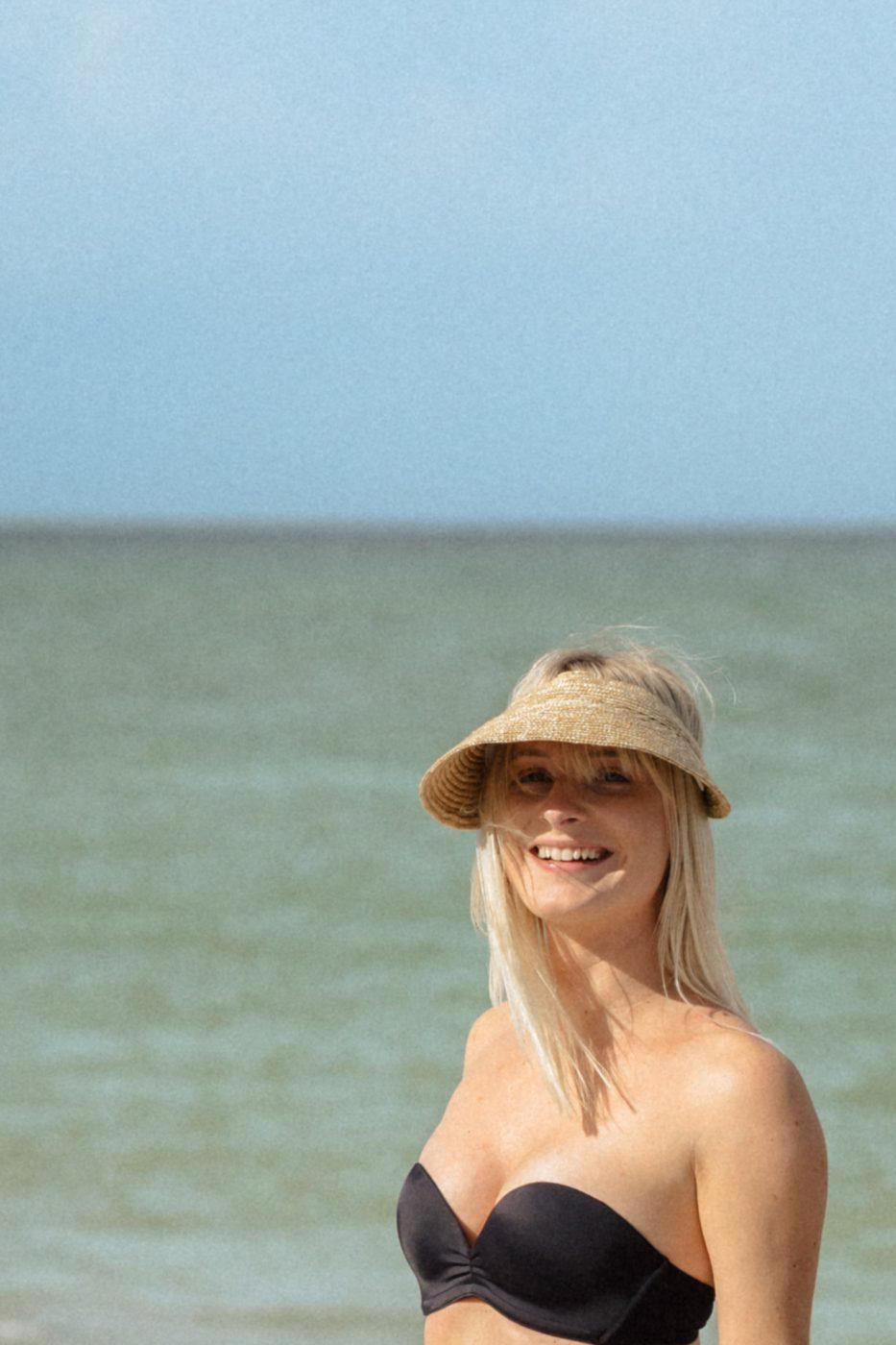 Upbra swimsuit - Sweet Teal