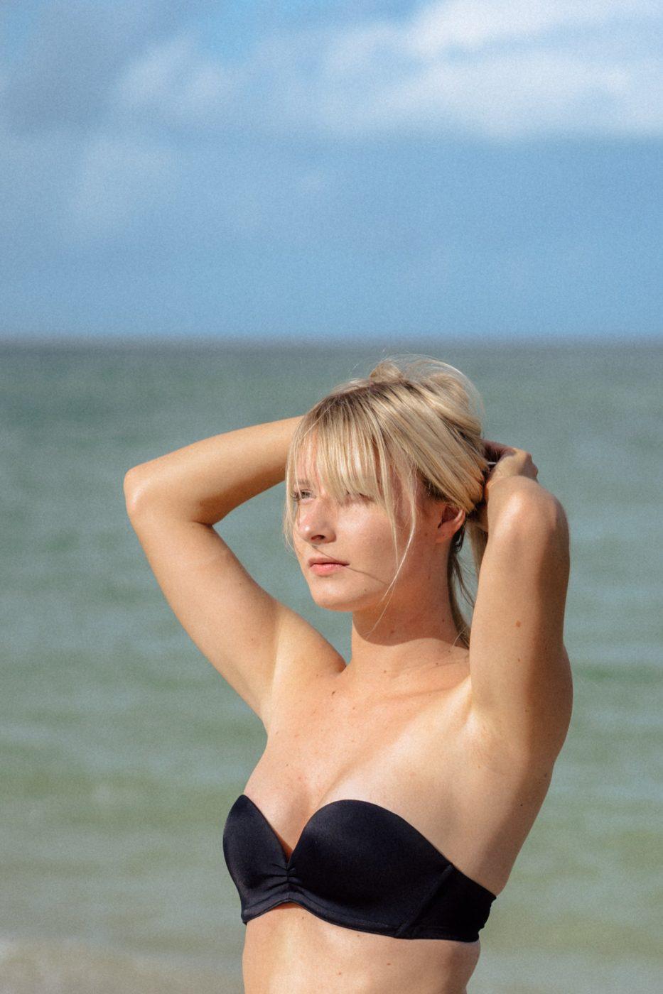 Upbra swimsuit top - Sweet Teal