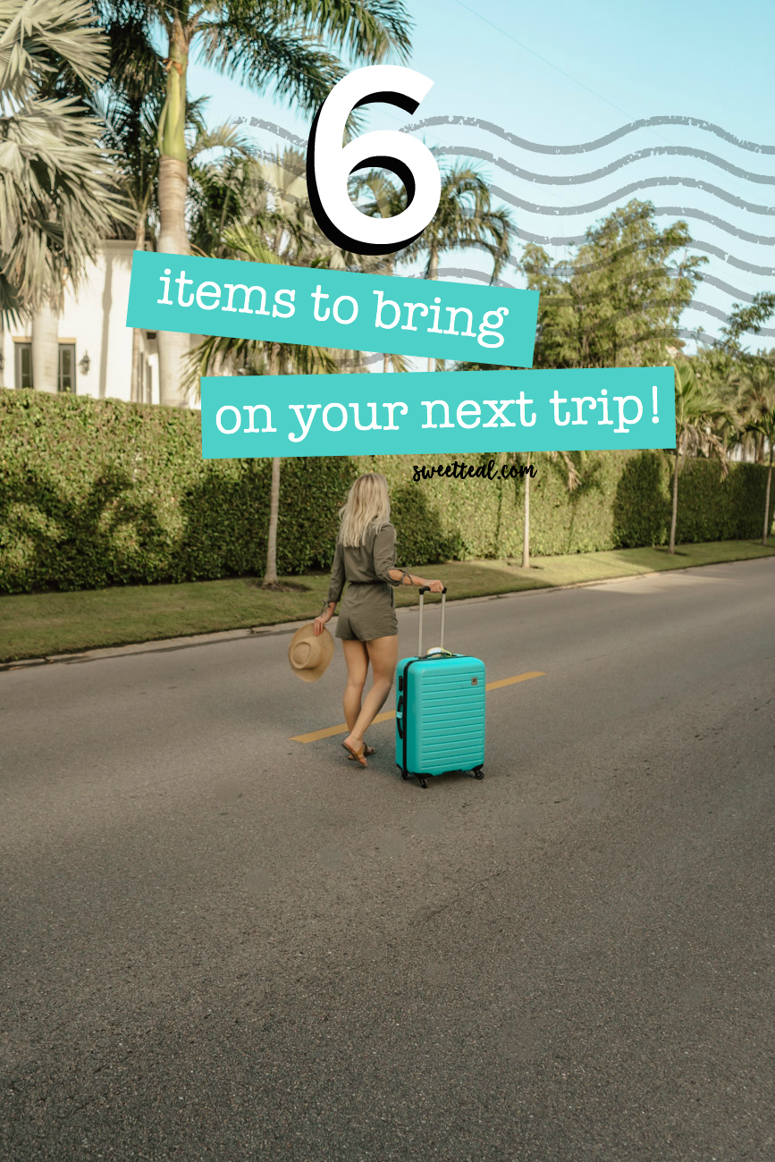 6 items to bring on your next trip - travel products