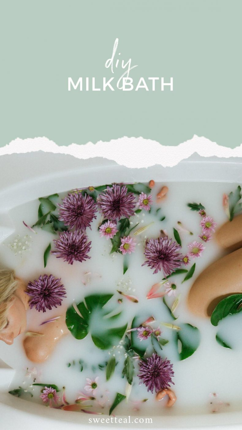 DIY Milk Bath & How To Make It Super Relaxing!