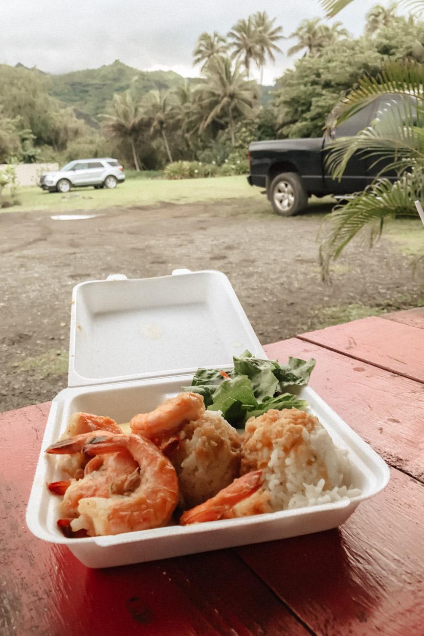 Garlic Shrimp Food Truck