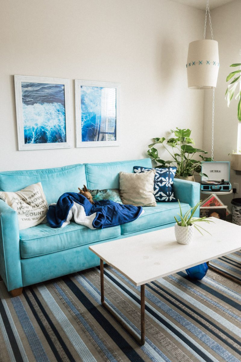 upgrading your rental with rugs