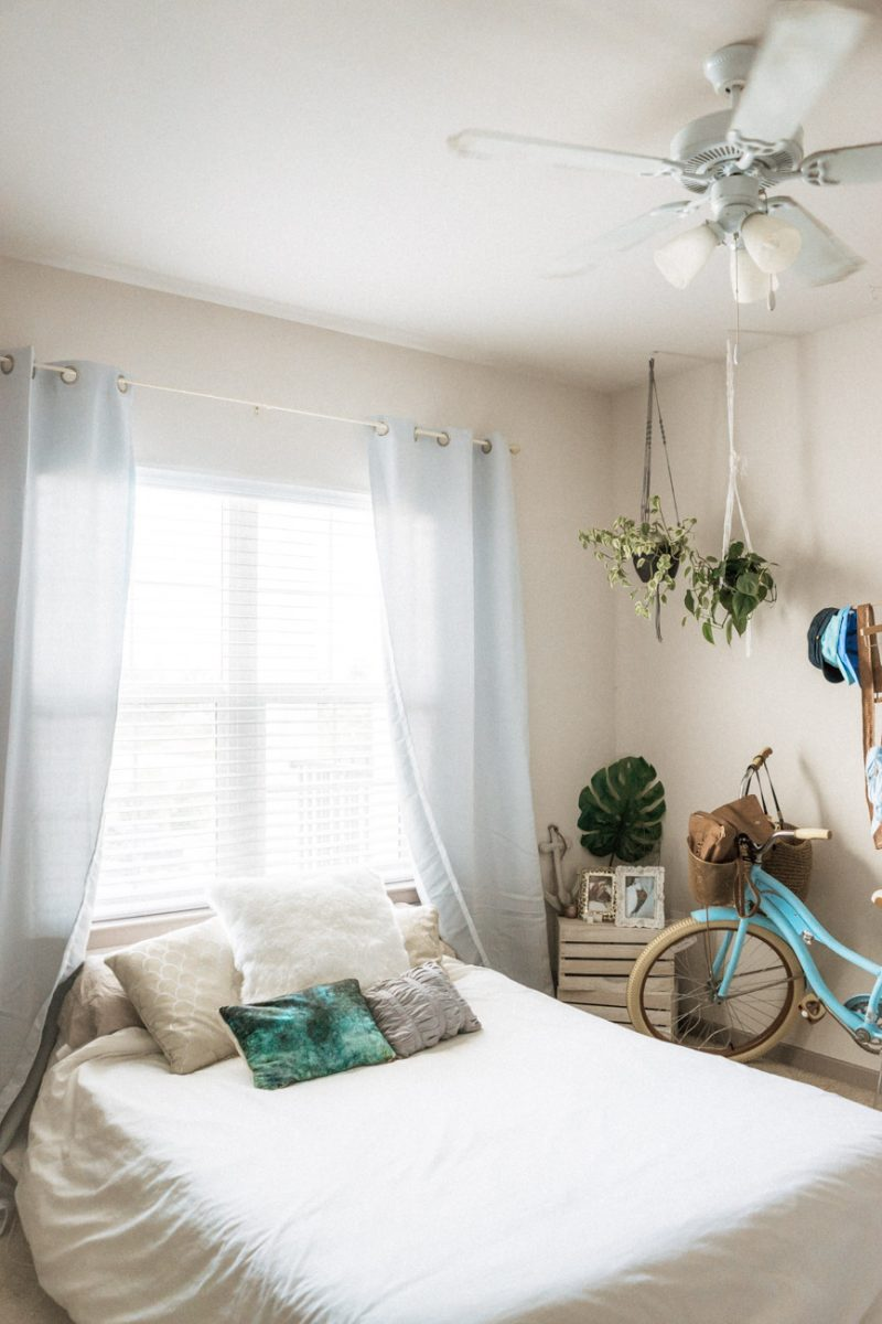 Curtains - Ways to upgrade your rental
