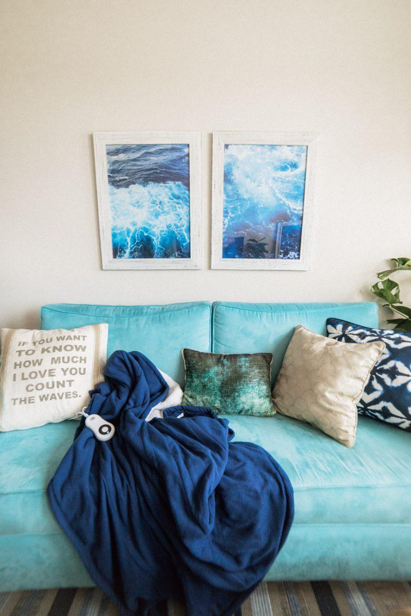 Rental Upgrades - Blanket - Sweet Teal