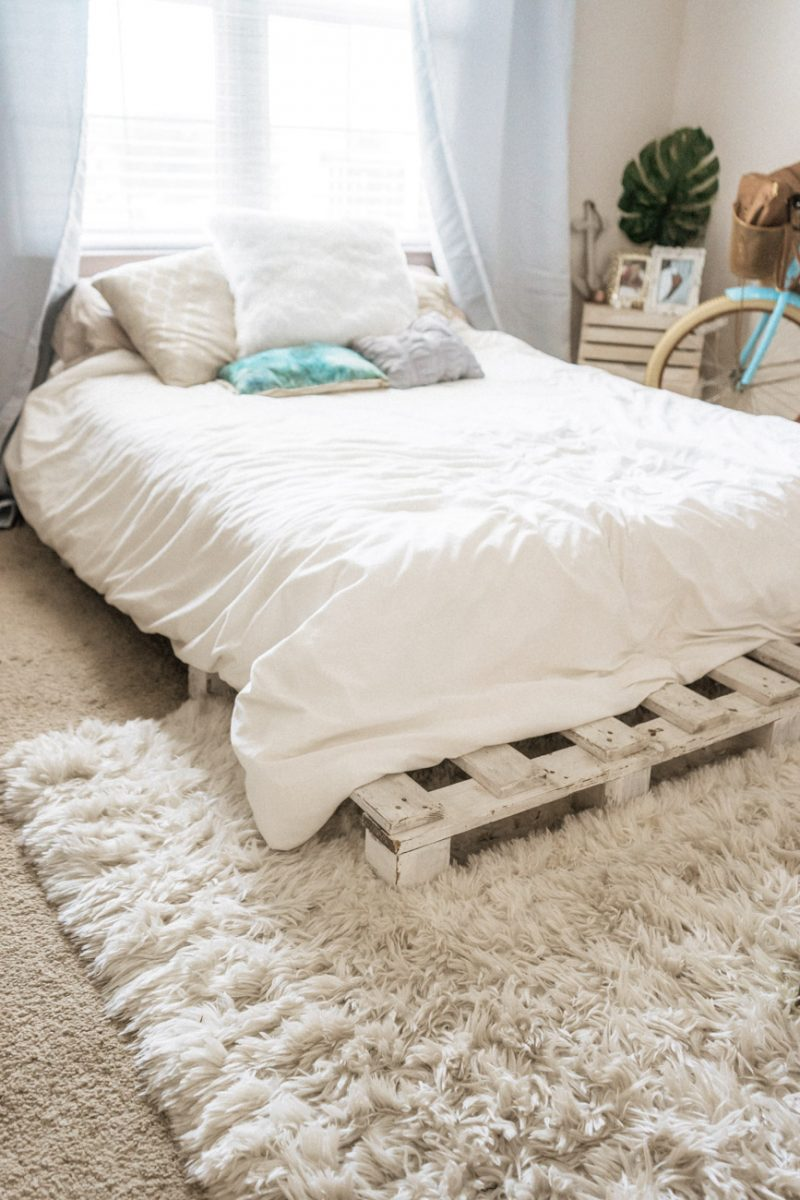 Rugs and linens - rental upgrades