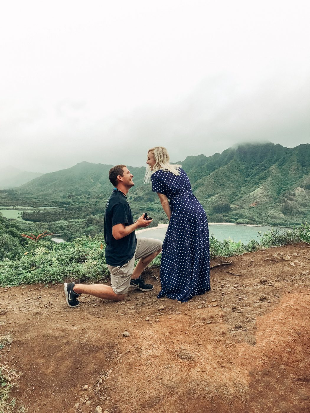 our engagement story in Hawaii