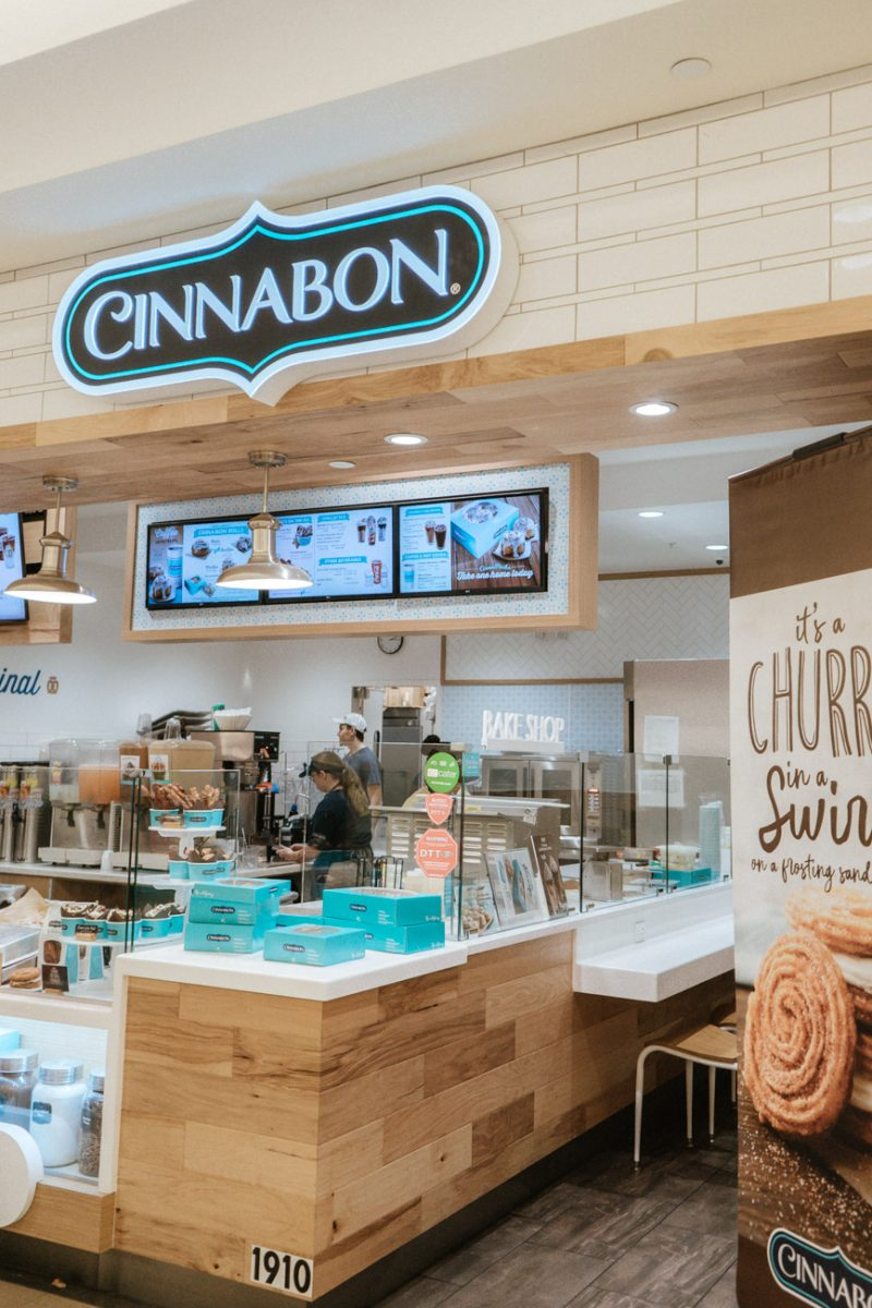 Cinnabon at Edison Mall in Florida