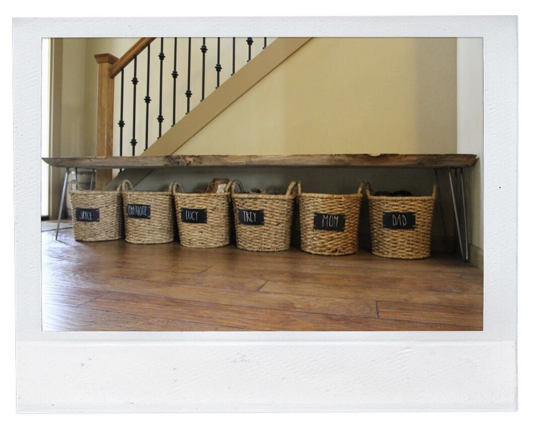 Shoe Storage - Baskets