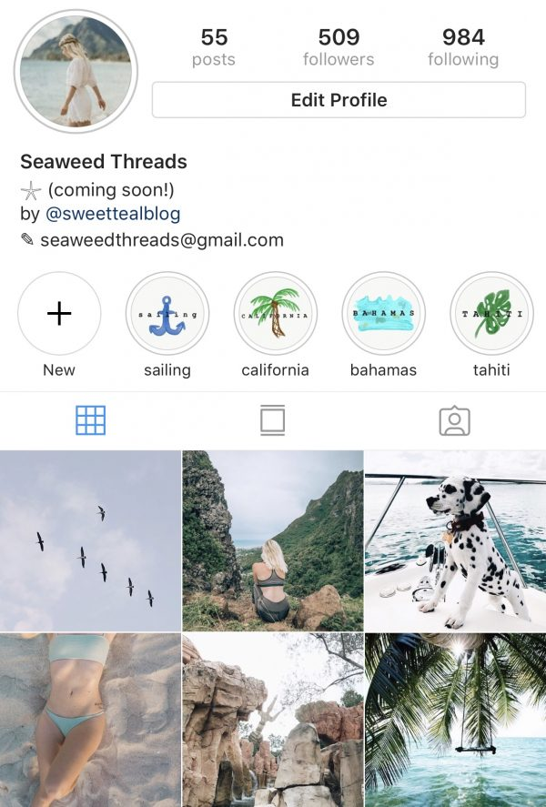 IG Story Icons Example 3