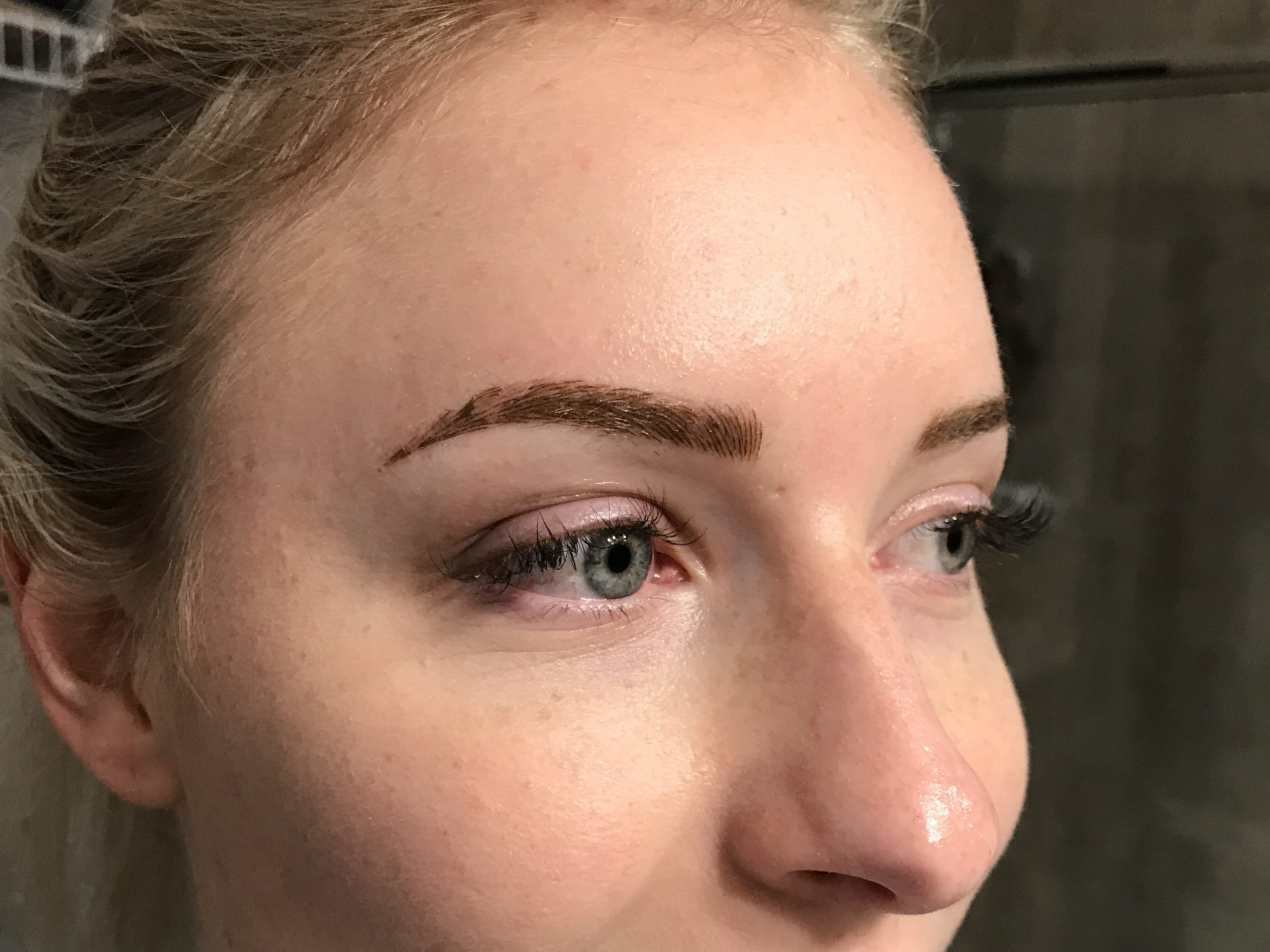 Healing Process of Microblading