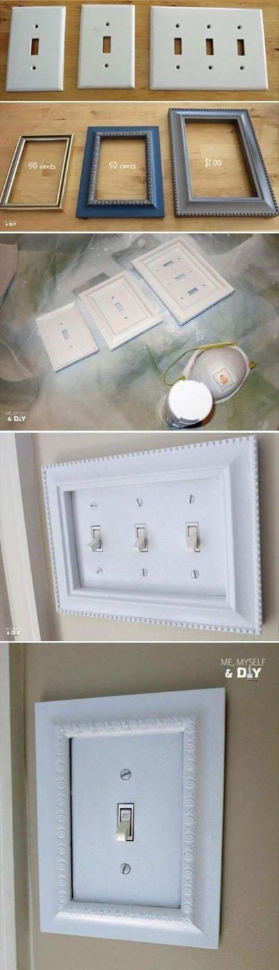 Frame Light Switches - Make Your Home Look Like A Million Bucks