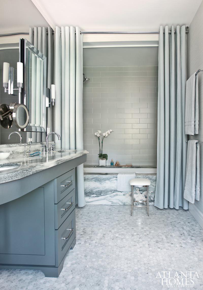 Double Shower Curtain - Make Your Home Look Like A Million Bucks On A Budget