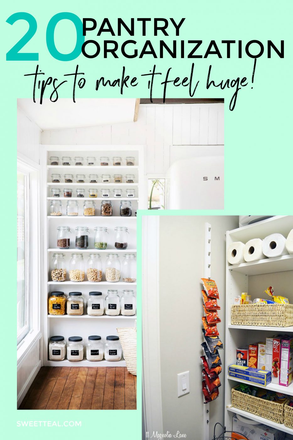 20 Pantry Organization Tips