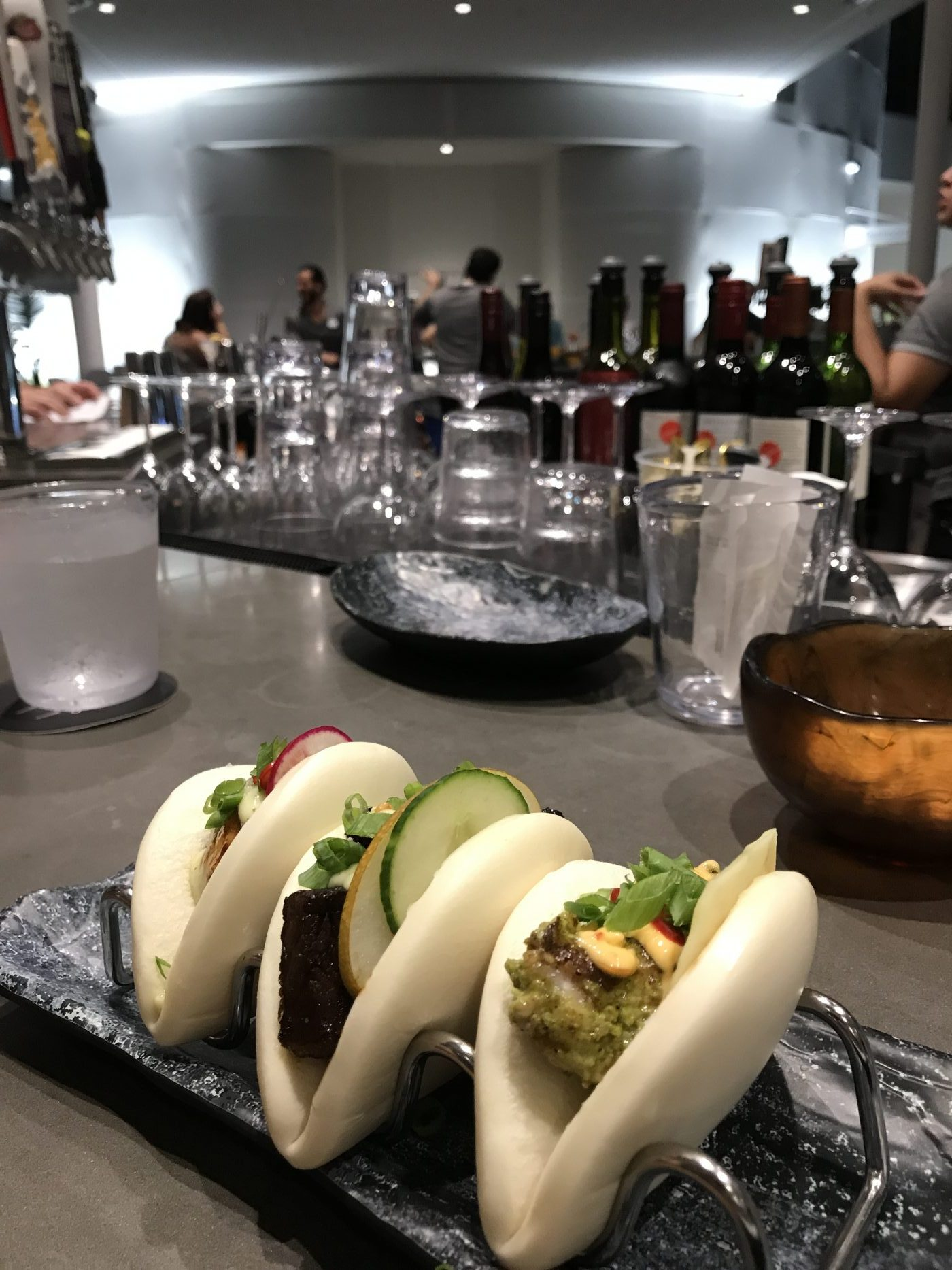 Bao Buns at Bar 17 Bistro