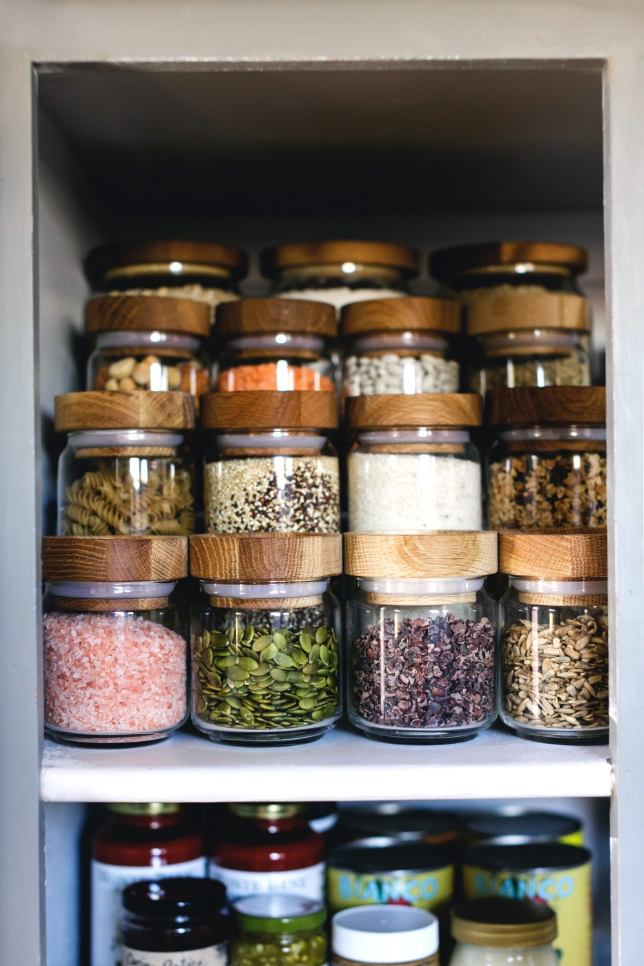 Pantry Organization - Shelf Risers