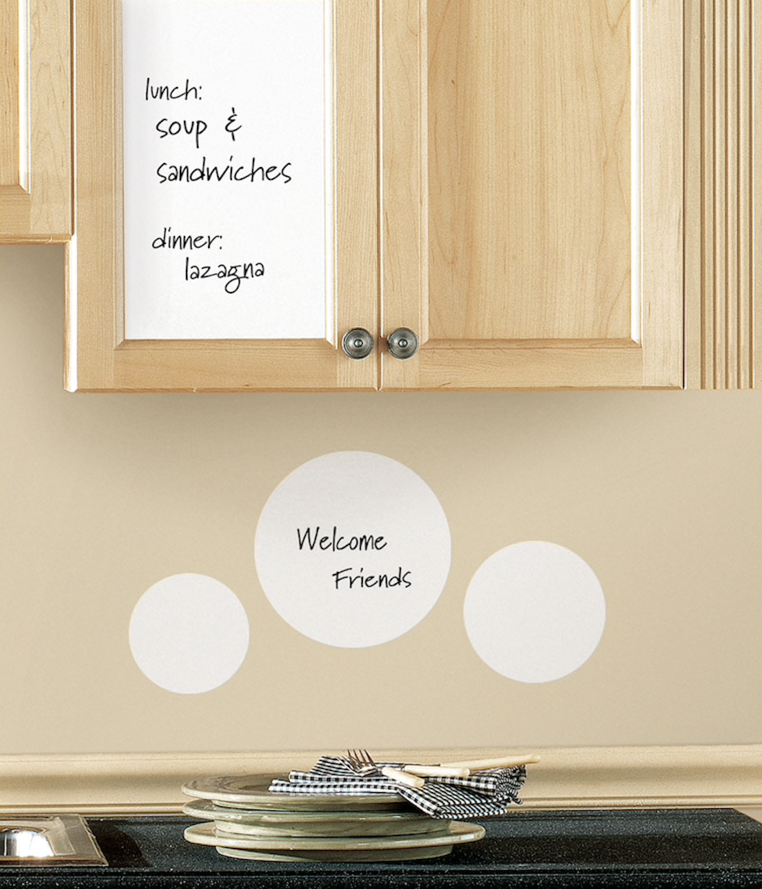 Pantry Organization - Reminder Stickers
