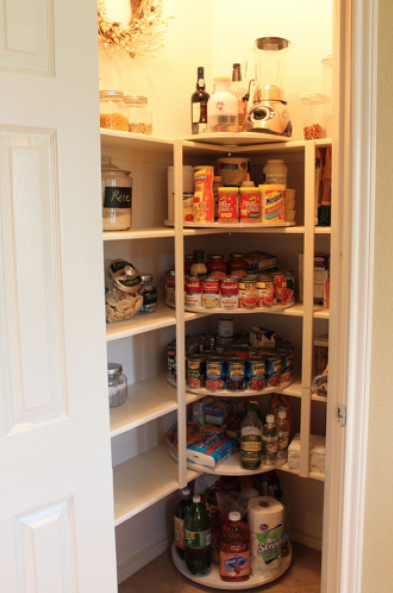 Pantry Organization - Lazy Susans