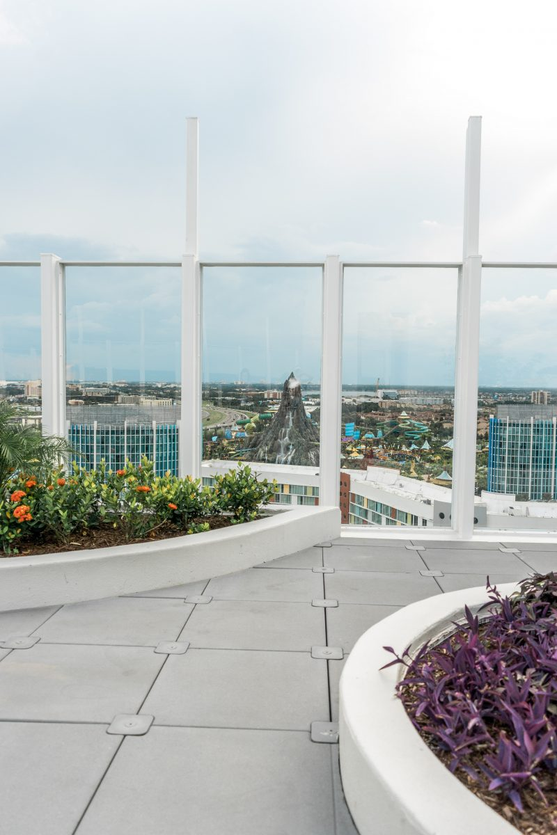 View of Volcano Bay at Aventura Hotel