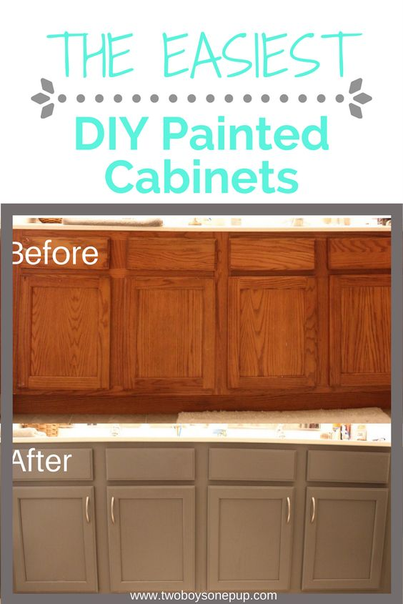 Paint Your Ugly Cabinets - Make Your Home Look Like A Million Bucks