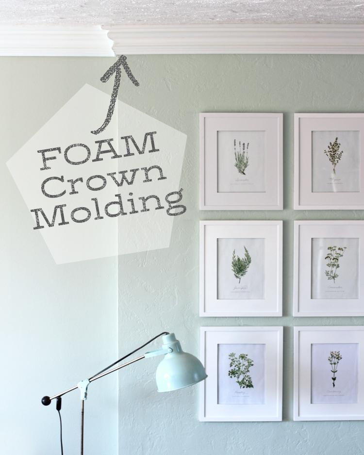 Foam Crown Molding - Make Your Home Look Like A Million Bucks